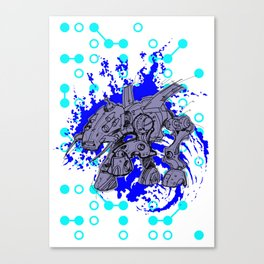 i'll conquer the World #3 Canvas Print