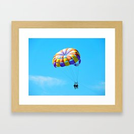 Parasailing Captiva Island Framed Art Print