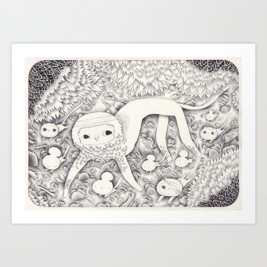 Woodkid Art Print