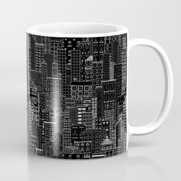 City Doodle (night) Coffee Mug