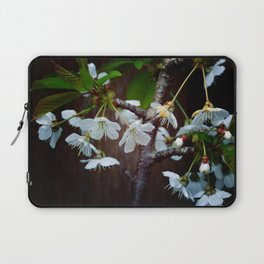 The beauty of Cherry flowers Laptop Sleeve
