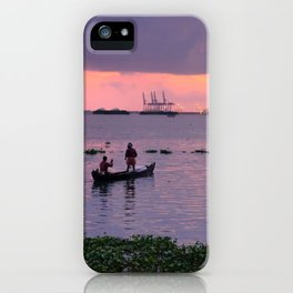 Waters of Kochi Part 2 iPhone Case