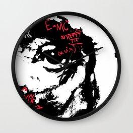 E=MC2 Wall Clock