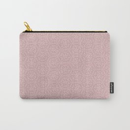 Going Round and Round - Peach Carry-All Pouch