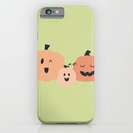 3 Pumpkins 2 iPhone Case