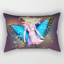 Butterfly Alice Rectangular Pillow