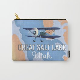 Great Salt Lake Utah map Carry-All Pouch
