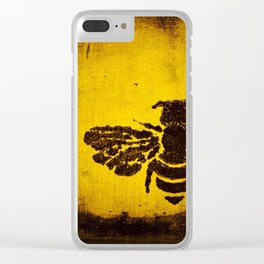 SUNSHINE BUMBLE Clear iPhone Case
