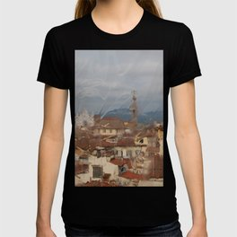 Florence through the looking glass. T-shirt