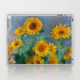 Bouquet of Sunflowers - Claude Monet Laptop & iPad Skin