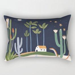Desert Dwellers Rectangular Pillow