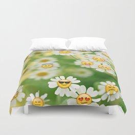 Emoji Garden Duvet Cover