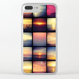 Atardecer Lima Clear iPhone Case