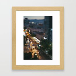 Small Places from the Big Mexico City Series (VII) Framed Art Print