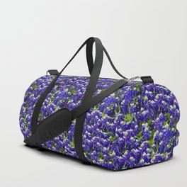 Texas Bluebonnets Duffle Bag