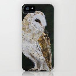Jazz The Barn Owl by Teresa Thompson iPhone Case