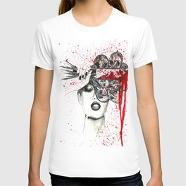 IF YOU CUT FLOWERS THEY DIE. STILL BEAUTIFUL BUT DEAD. T-shirt
