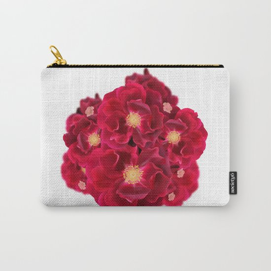 Floral Ink Carry-All Pouch