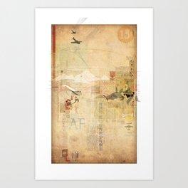 War Summary Art Print