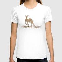 kangaroo T-shirts featuring Kangaroo by Emma Traynor