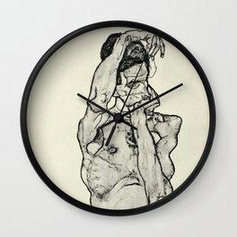 Egon Schiele  -  Zeichnungen II Wall Clock