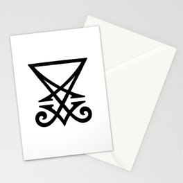 Sigil of Lucifer Stationery Cards