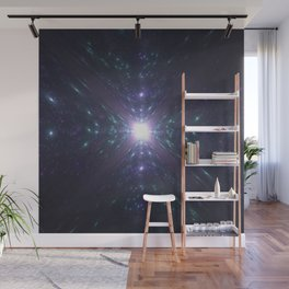 Looking at the Universe Through a Diamond Wall Mural