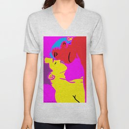 We Can be Heroes Unisex V-Neck