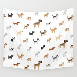 Lots of Cute Doggos Wall Tapestry