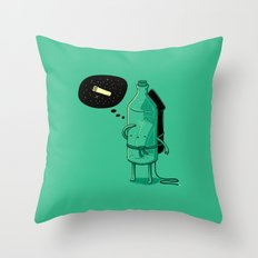 Sending my dream into the universe (2013 remake) Throw Pillow