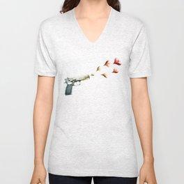 My Love Gun in Color Unisex V-Neck
