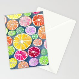 Citrus Painting Stationery Cards