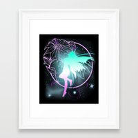 fairy Framed Art Prints featuring Fairy by Augustinet
