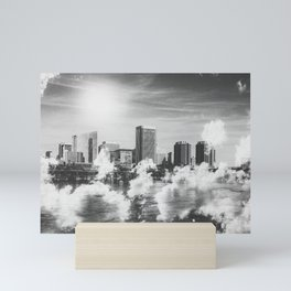 City in the Clouds Mini Art Print