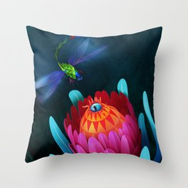 Botanica I Throw Pillow