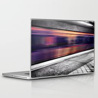 subway Laptop & iPad Skins featuring Subway by Yancey Wells