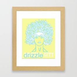 Drizzle City 1 Framed Art Print