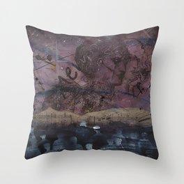 Femanine Throw Pillow