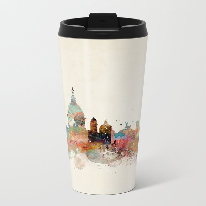rome italy skyline Metal Travel Mug