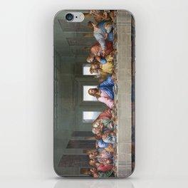 The Last Supper by Leonardo da Vinci iPhone Skin
