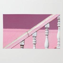 Pink Stairway Rug