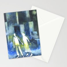 Lost souls at moonlight Stationery Cards