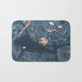 Bouquet and Bride Floating Bath Mat