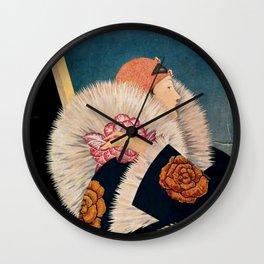 Vintage V Wall Clock