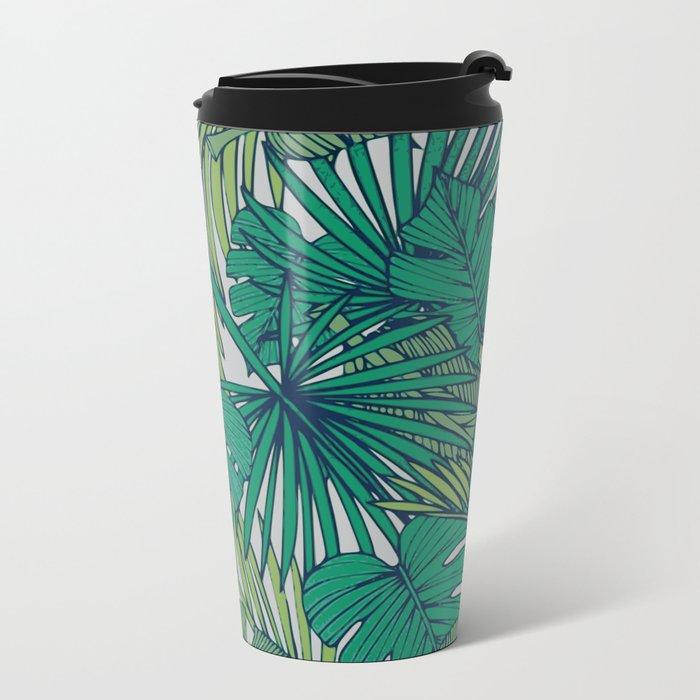 Palm veil Metal Travel Mug