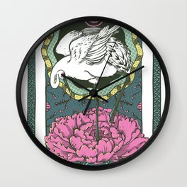 The Crane Wall Clock