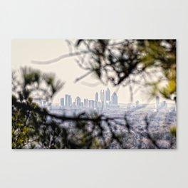 Atlanta from Stone Mountain Canvas Print