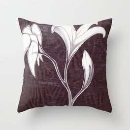 Wilted  Throw Pillow