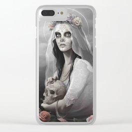 bride of the Death Clear iPhone Case
