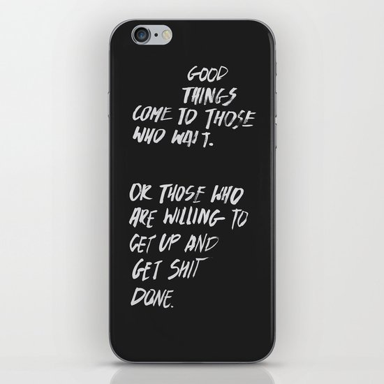Good Things iPhone & iPod Skin